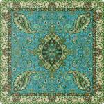 رومیزی مربع ترمه طرح سالار کد 814
