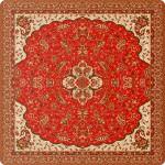 رومیزی مربع ترمه طرح شاه عباسی کد 810