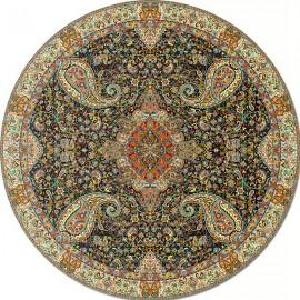 رومیزی گرد ترمه طرح سالار کد 710