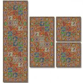 سرویس کامل رومیزی طرح امپراطور کد 1006